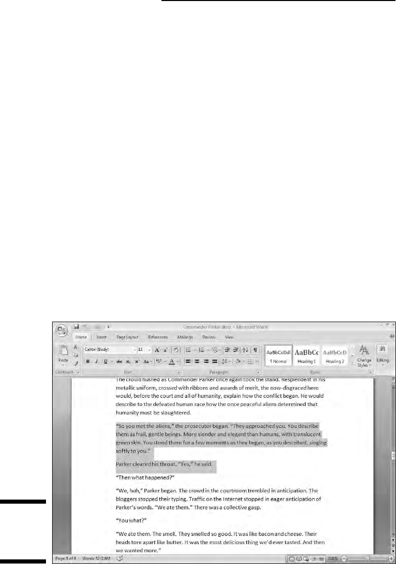 Microsoft word 2007 for dummies only with the dawn of the word processor has working with blocks returned fandeluxe Gallery