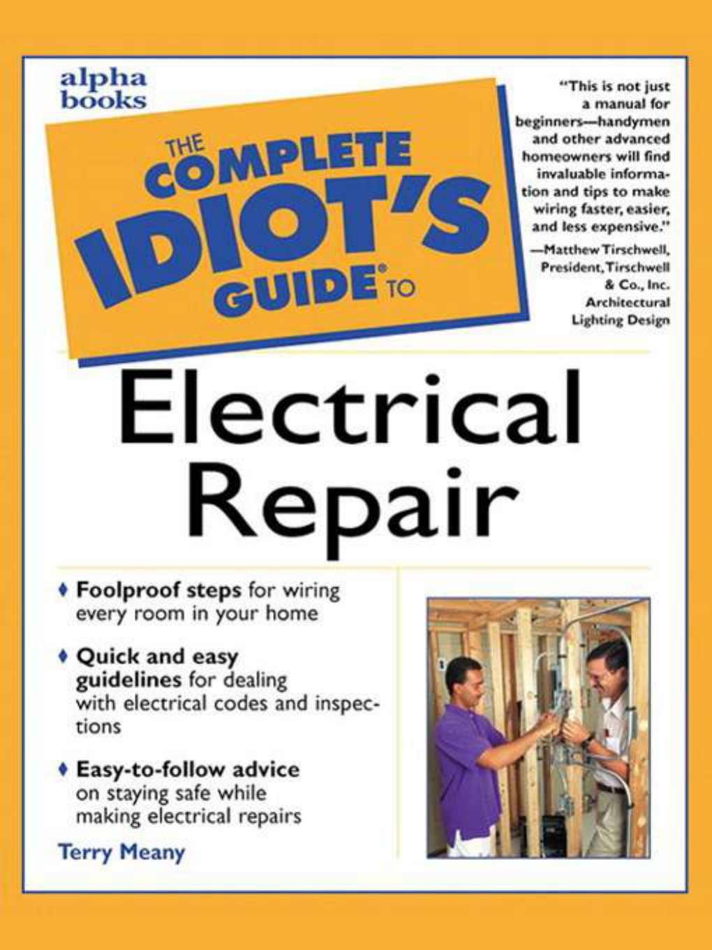 The complete idiots guide to electrical repair fandeluxe Images
