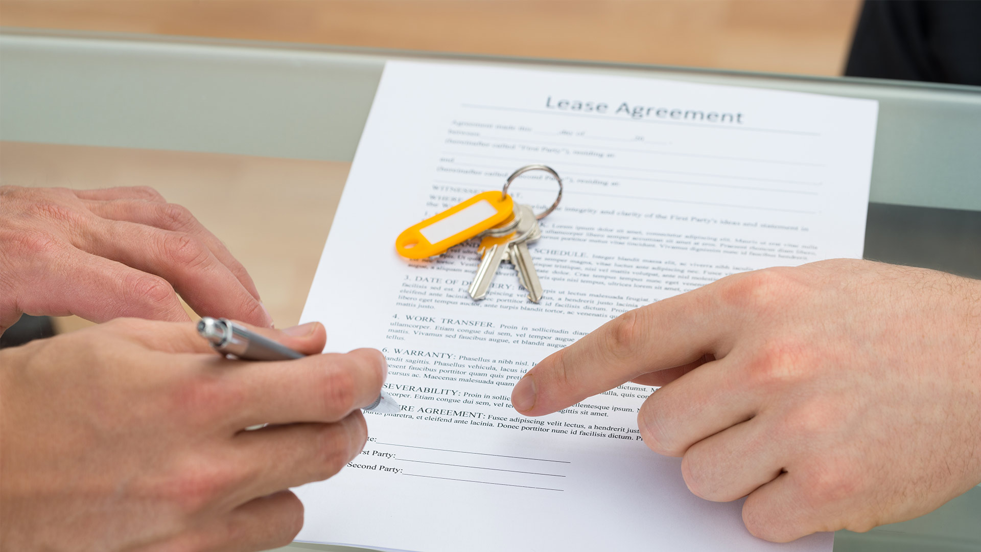 Cosigner Agreement Landlord Lease Forms Rental Agreement Forms